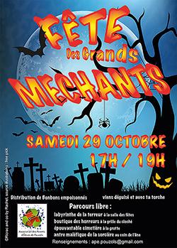 affiche Halloween créé par Rachel Joubi