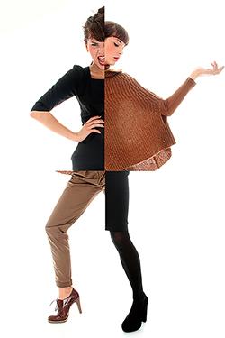 mode, montage photo, plusieurs fringues portés par une jolie femme sur la même image. Photographiés par notre photographe Rachel Joubi