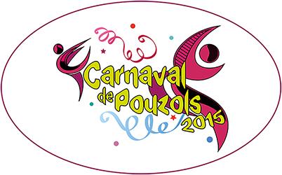 logo du carnaval de Pouzols créé par notre photographe Rachel Joubi