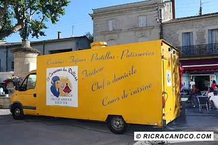 Food Truck El caravane des délices photographié par Rachel Joubi Spécialités marocaines