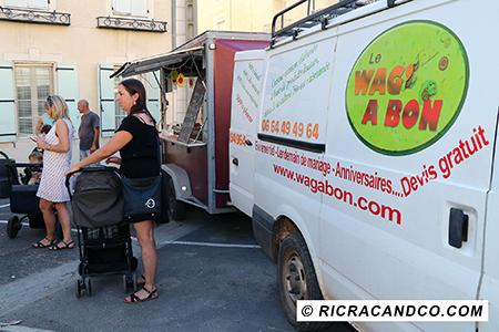 Food Truck Wag'a Bon photographié par Rachel Joubi pendant le Festival de rue